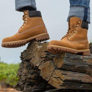 Timberland MEN'S MID PREMIUM WATERPROOF BOOTS