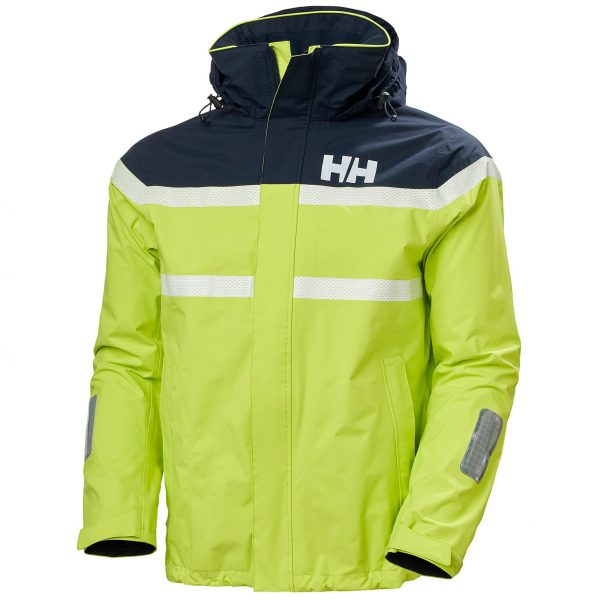 Helly Hansen Mens Saltro Jacket Azid Lime