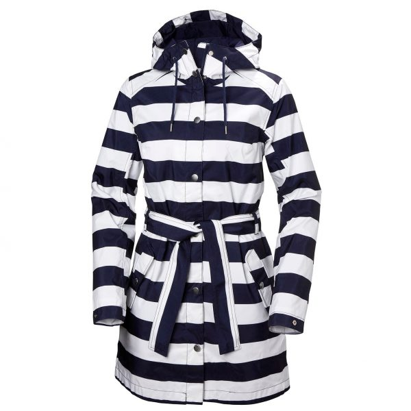 Helly Hansen Women Lyness II Coat Blue Stripe