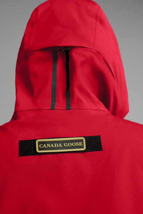 Canada Goose Seaboard Rain Jacket Women's Red
