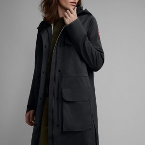 Canada Goose Seaboard Rain Jacket Women's Black