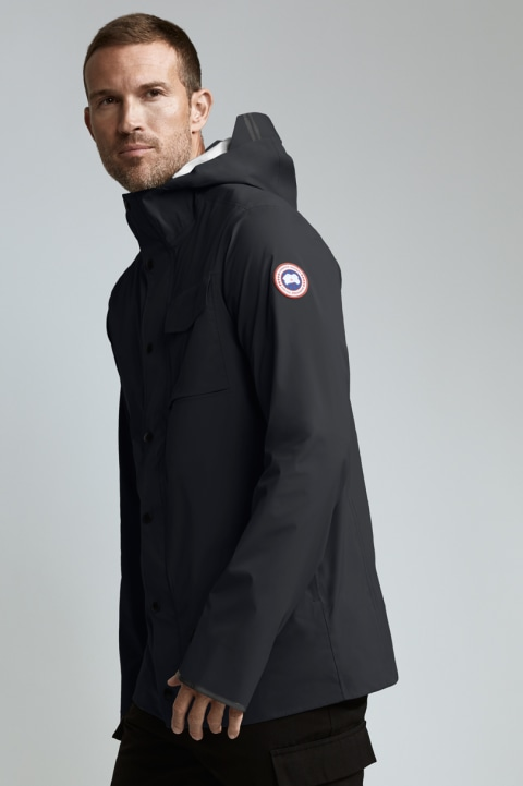 Canada Goose Nanaimo Rain Jacket Men's Black