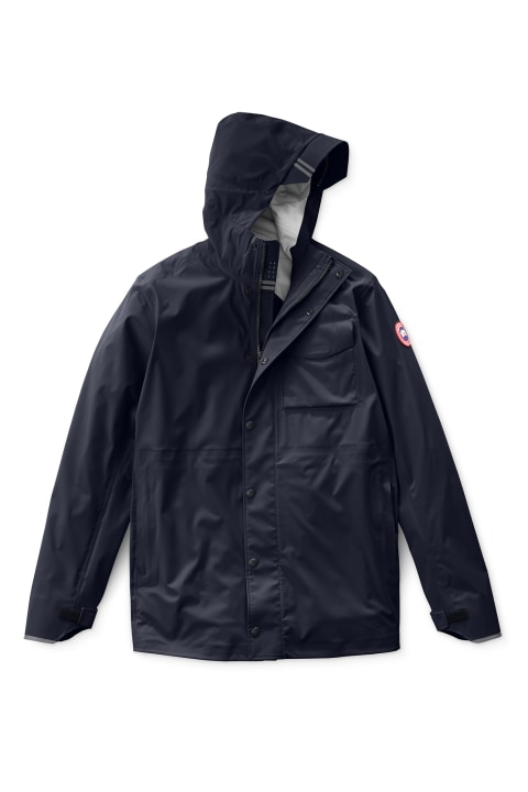 Canada Goose Nanaimo Rain Jacket Men's Navy