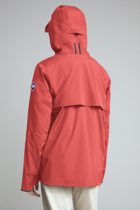 Canada Goose Pacifica Rain Jacket Women's Fire Bud
