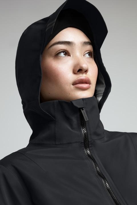 Canada Goose Pacifica Rain Jacket Women's Black