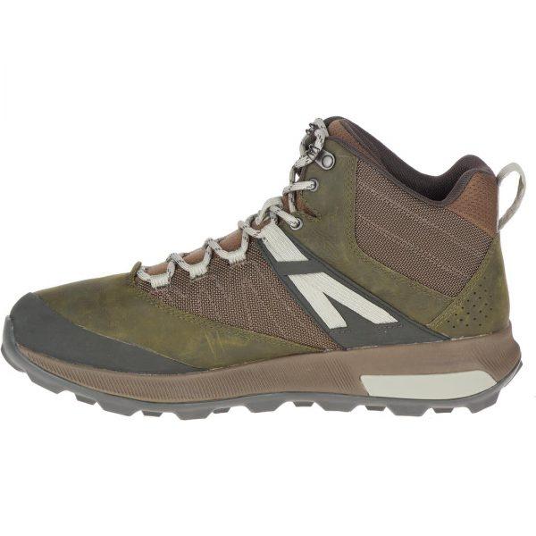 Merrell Zion Mid Waterproof Hiking Boots - Men's