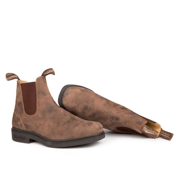 Blundstone Chisel Toe Dress Rustic Brown 1306