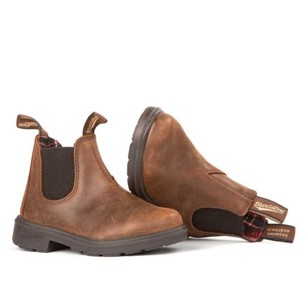 Blundstone Kids Antique Brown 1468
