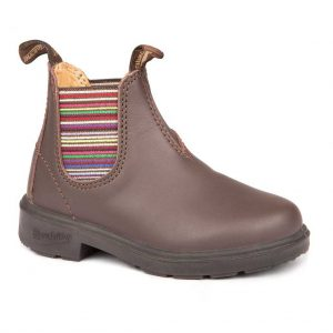 Blundstone Kids Brown Striped Elastic 1413