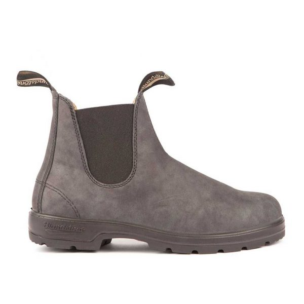 Blundstone Leather Lined Classic Rustic Black 587