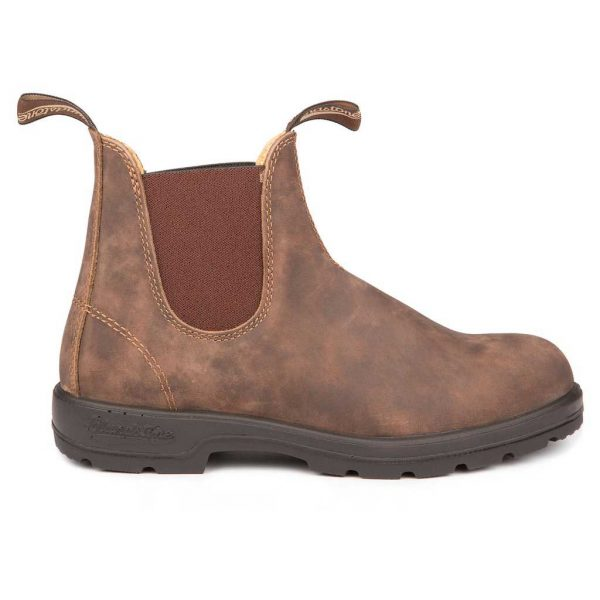 Blundstone Leather Lined Classic Rustic Brown 585