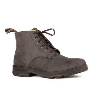 Blundstone Original Lace Up Rustic Black 1936
