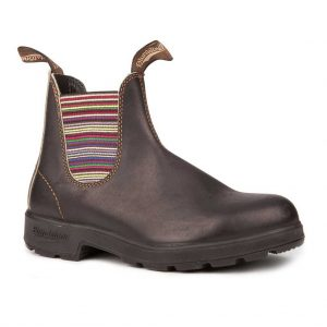 Blundstone 1409 Stout Brown Striped Elastic