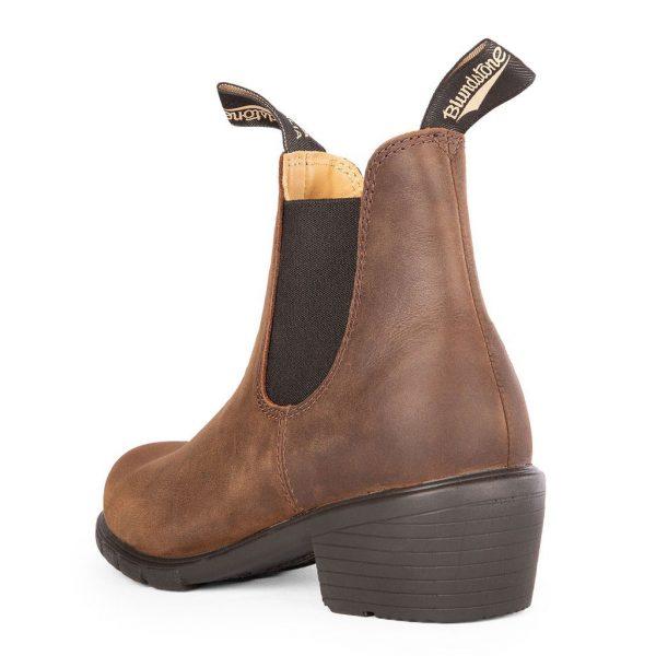 Blundstone Womens Series Heels Antique Brown 1673