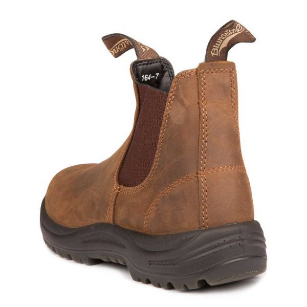 Blundstone Work and Safety Boots Crazy Horse Brown 164