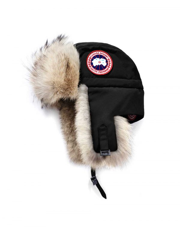 Canada Goose Aviator Hat Women's Black