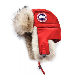 Canada Goose Aviator Hat Women's Red