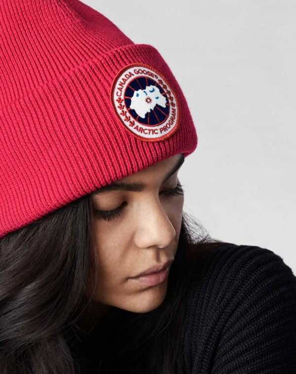 Canada Goose Disc Toque Red