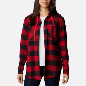 Columbia Anytime Stretch Hooded Long Sleeve Shirt Women's