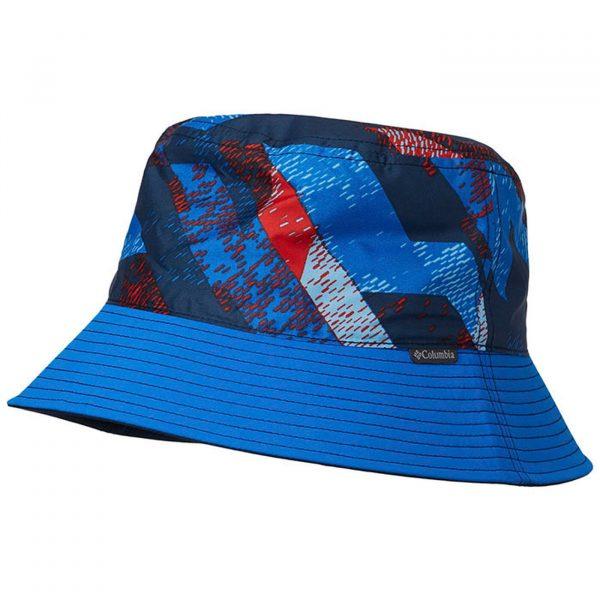 Columbia Kids Pixel Grabber Bucket Hat Blue