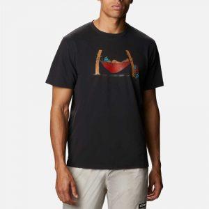 Columbia Mens Elements Graphic T-Shirt II-Black
