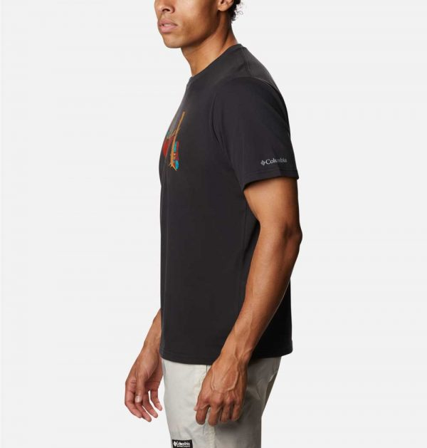 Columbia Mens Elements Graphic T-Shirt II-Black