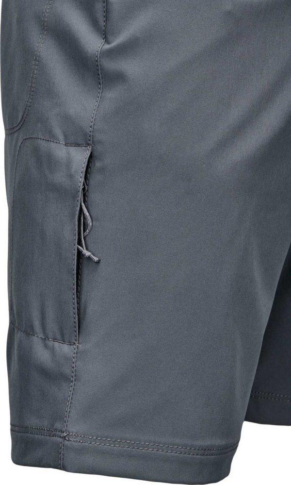 Columbia Mens Outdoor Elements 5-Pocket Shorts-City-Grey