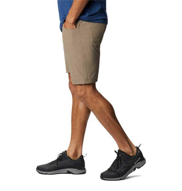 Columbia Mens Outdoor Elements 5-Pocket Shorts-Tusk