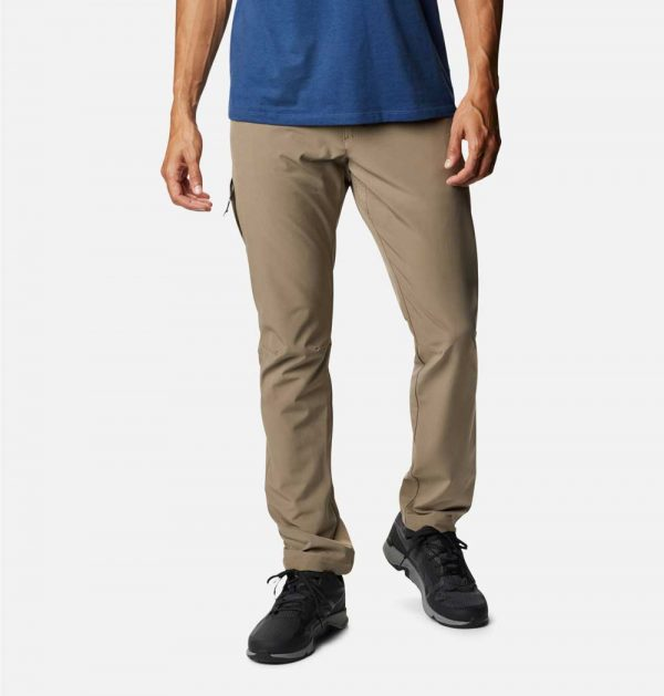 Columbia Mens Outdoor Elements Stretch Pants-Tusk