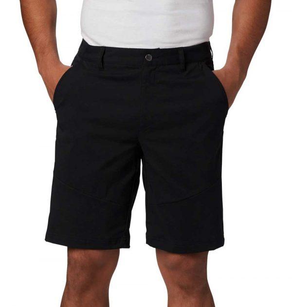Columbia Mens Tech Trail Shorts-Black