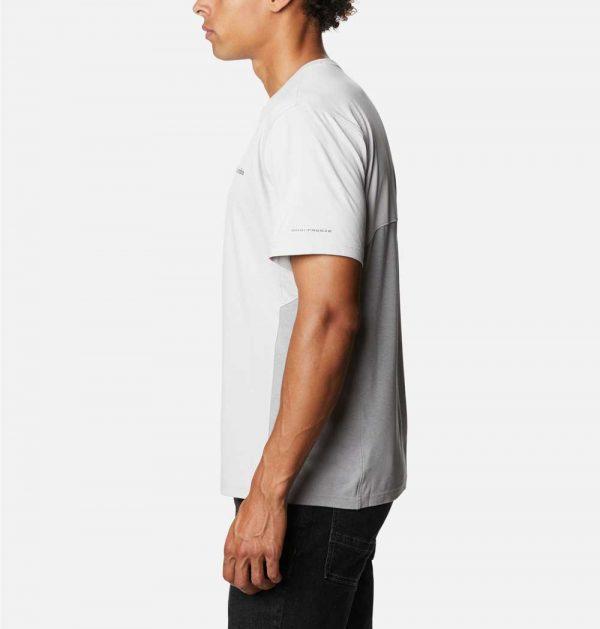 Columbia Mens Zero Ice Cirro-Cool Short Sleeve Shirt-Nimbus Grey