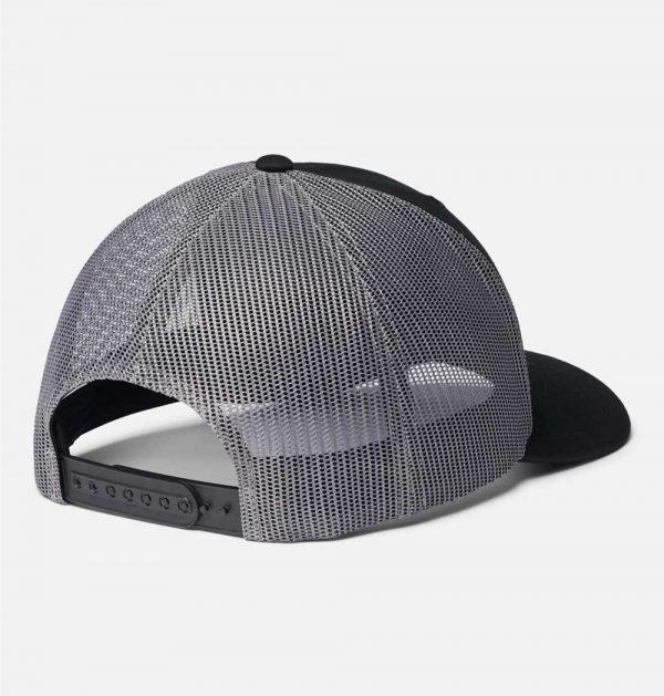 Columbia Mesh Snap Back Hat-Black Canadia Rockies