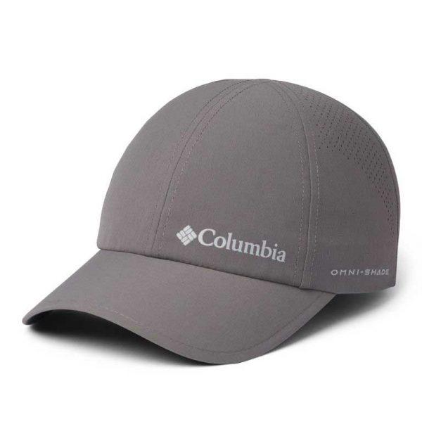 Columbia Silver Ridge III Ball Cap-City Grey