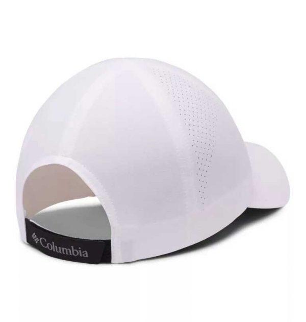 Columbia Silver Ridge III Ball Cap-White