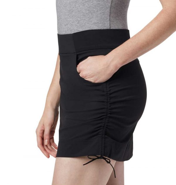 Columbia Womens Anytime Casual Skort-Black