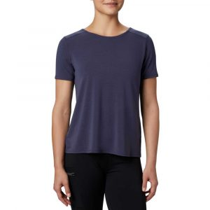 Columbia Womens Essential-Elements Short Sleeve Shirt-Nocturnal