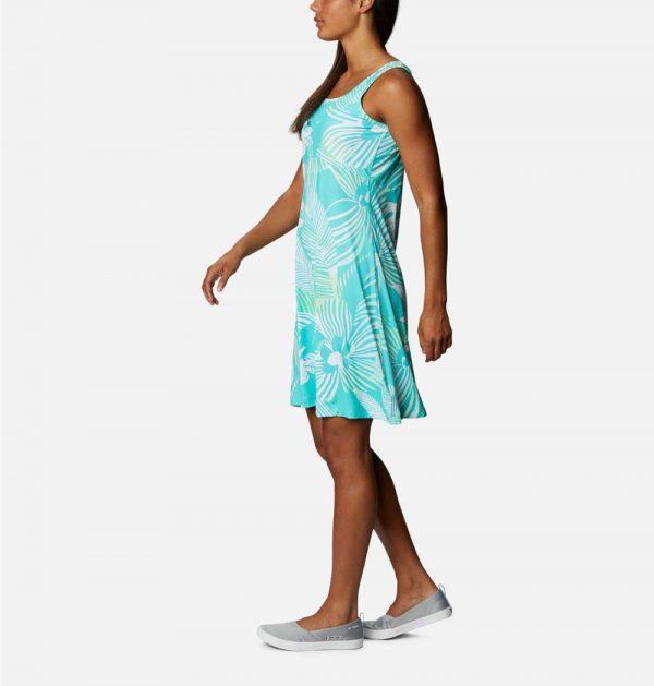 Columbia Women's Freezer III Dress-Dolphin Stencil Hibiscus
