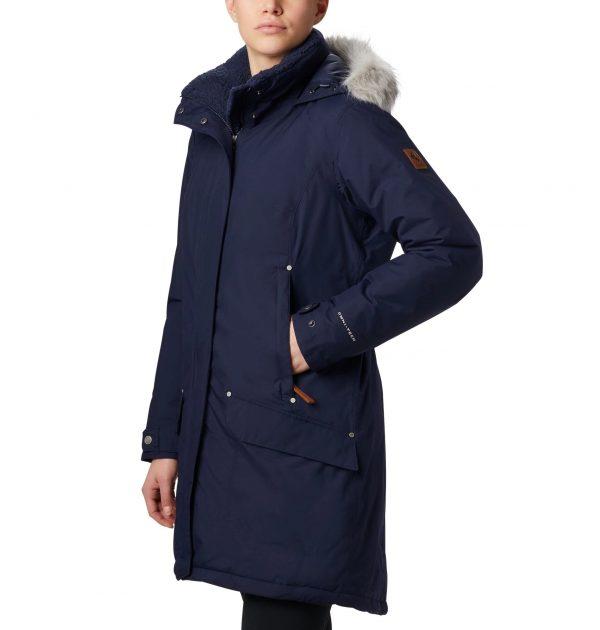 Columbia Women's Icelandite TurboDown Jacket - Dark Nocturnal blue