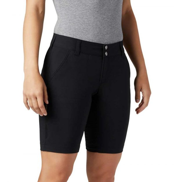 Columbia Women's Saturday Trail Long Shorts-black