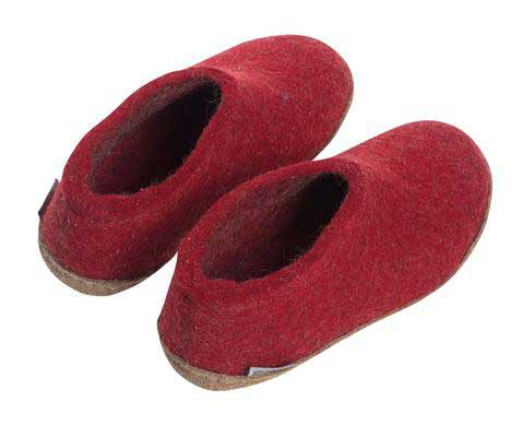 Glerups Kids Shoe Red
