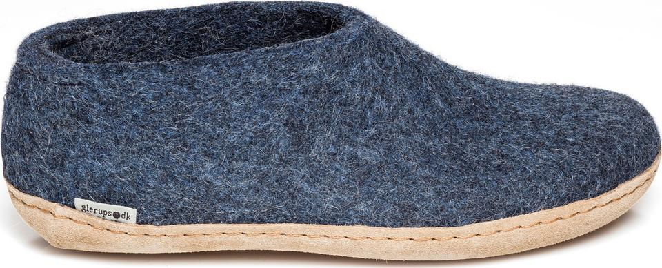 Glerups Shoe Leather Sole Blue