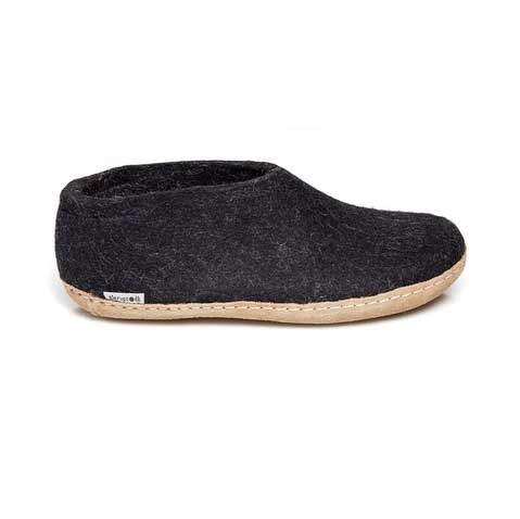 Glerups Shoe Leather Sole Charcoal