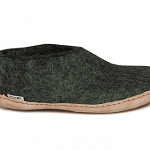 Glerups Shoe Leather Sole Forest