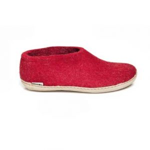 Glerups Shoe Leather Sole Red
