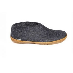 Glerups Shoe Rubber Sole Charcoal