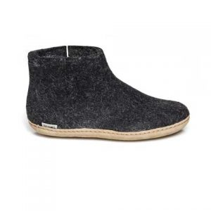 Glerups Low Boot - Charcoal