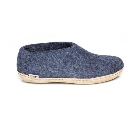 Glerups Shoe Leather Sole Denim