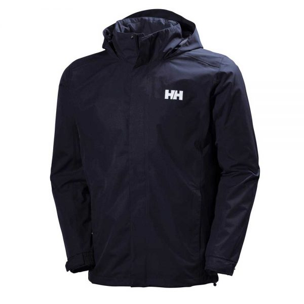 Helly Hansen Mens Dubliner Jacket Red Navy
