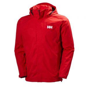 Helly Hansen Mens Dubliner Jacket Red