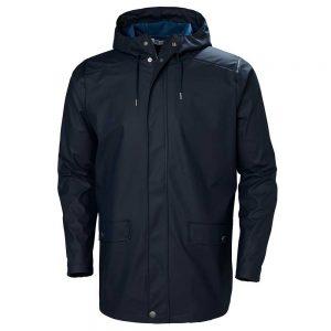 Helly Hansen Mens Rain Coat Navy